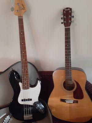 Base & guitar for Sale in Lansdowne, VA