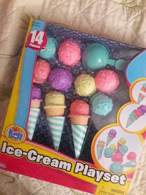 ICE CREAM PLAYSET $10 EACH for Sale in South Gate, CA