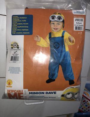 Minion child costume size 12-24mo for Sale in Hayward, CA