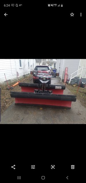 8 foot Western Plow for Sale in WARRENSVL HTS, OH