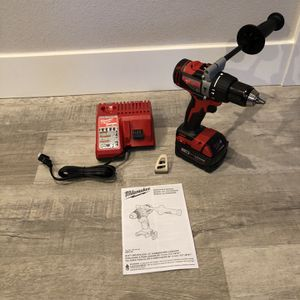 Milwaukee M18 Fuel Brushless Drill/Battery/Charger for Sale in Vancouver, WA