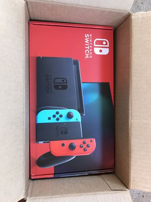 NINTENDO SWITCH RED BLUE JOYCON CONSOLE BRAND NEW for Sale in Portland, OR