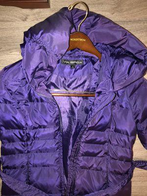 Purple puffer jacket size (L) for Sale in Corona, CA