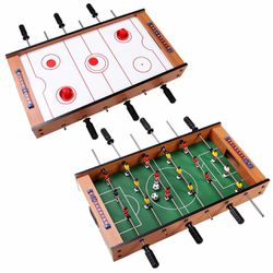 2-In-1 Indoor/Outdoor Air Hockey Foosball Game Table for Sale in Walnut,  CA
