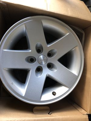 Jeep Wrangler wheels. for Sale in East County Civic Group, FL