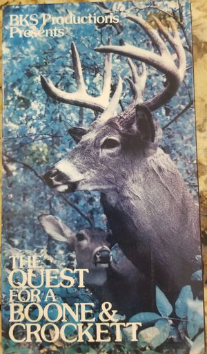 The Quest for a Boone and Crockett vhs for Sale in Three Rivers, MI