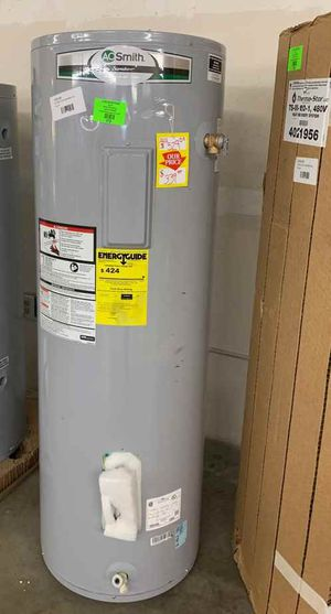 50 gallon AO Smith water heater with warranty T7S15 for Sale in Saginaw, TX