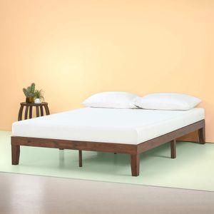 New Zinus Marissa 12 Inch Wood Platform Bed Wood Slat Support Antique Espresso King size for Sale in Columbus, OH
