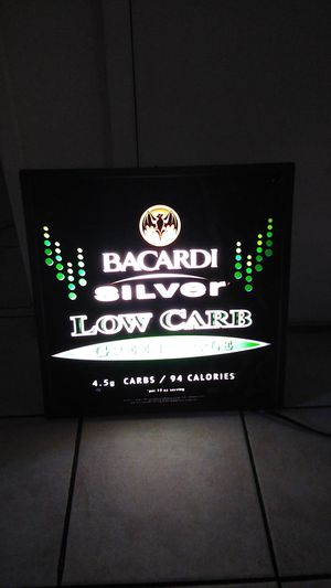Bacardi electric sign for Sale in El Monte, CA