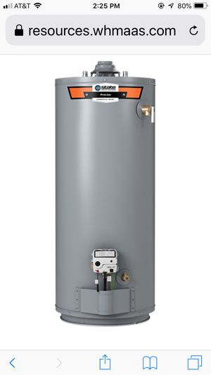 Proline 50 gallon gas water heater for Sale in Maryville, TN