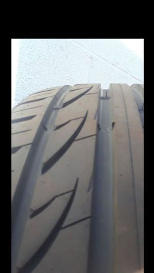 2 Tires Newer Lexlani 245/45R18 for Sale in Fairfax, VA
