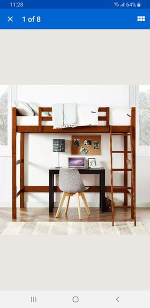 Twin size loft bed frame for Sale in Lynwood, CA