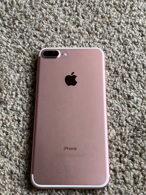 iPhone 7 plus Unlocked for Sale in Federal Way, WA