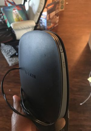 BELKIN f9k1001v4 router for Sale in Pittsburgh, PA