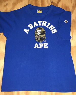 Medium Blue A Bathing Ape T-Shirt for Sale in St. Louis, MO