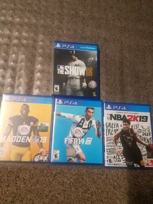 PS4 sports Games for Sale in Lancaster, CA