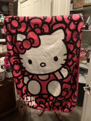 Hello kitty blanket for Sale in Fresno, CA