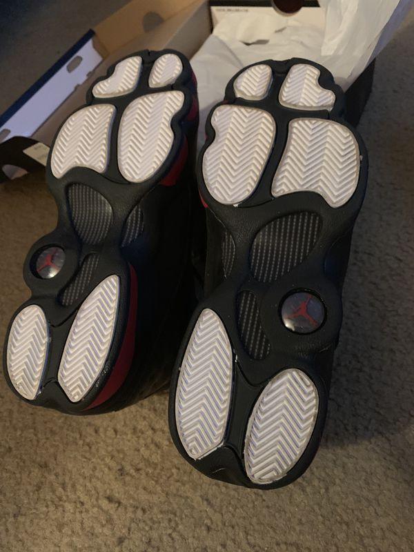 "Jordan 13s size 7 ""Dirty Breds"""