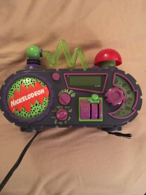 Nickelodeon alarm clock for Sale in Revere, MA