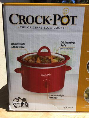 Crock Pot Slow Cooker 2 Quarts for Sale in Marina, CA
