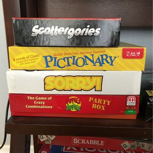 Bundle Of Board Games for Sale in Sarasota, FL