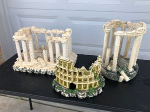 Ancient Greek Roman Ruins Fish tank big ornament >>>COLOSSEUM SOLD!<<< for Sale in Tinley Park, IL