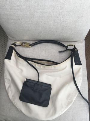 Gucci Canvas Leather Crescent Hobo Shoulder Bag for Sale in Houston, TX