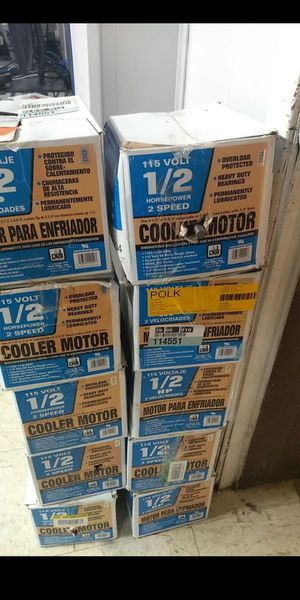 AC cooling motors,/ for AC technician for Sale in Houston, TX