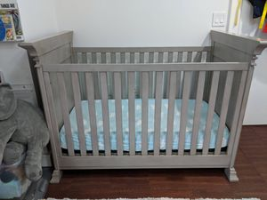 Crib- Crib - Baby Cache Vienna Nursery Furniture Collection in Ash Grey. I have 2 Price is for each for Sale in Hoboken, NJ