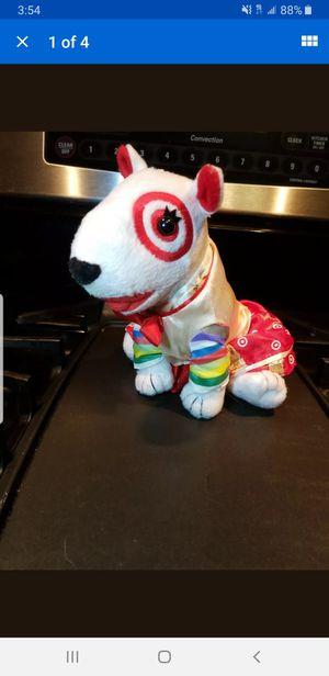 """Target Bullseye Dog Korea Plush Toy Stuffed Animal 7"""" RARE for Sale in Roseville, MN"""