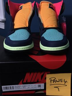 "DS Nike Air Jordan 1 Retro High OG ""Biohack"" Size: 11 - $285 OBO for Sale in New Britain,  CT"