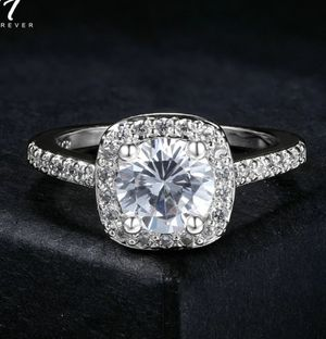 $10 new size 5 silver plated CZ ring for Sale in Ballwin, MO