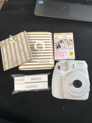 Instax Mini 9 with accessories for Sale in Denton, TX