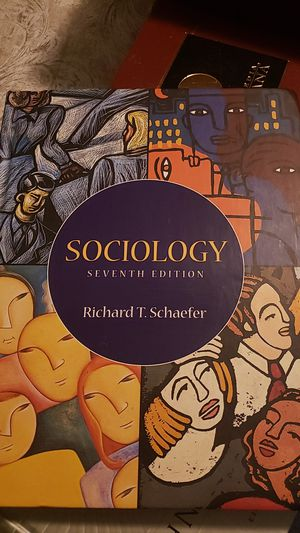 Sociology Seventh Edition (Richard T. Schaefer) for Sale in Rialto, CA