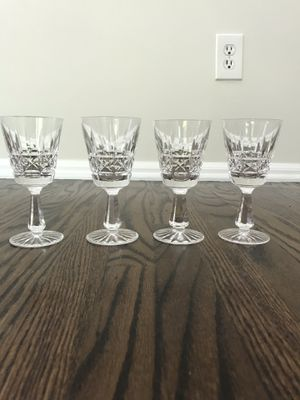 Cut Glass After Dinner Drink Glasses for Sale in Moorestown, NJ