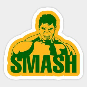 Hulk smash decal avengers for Sale in Columbia, MO