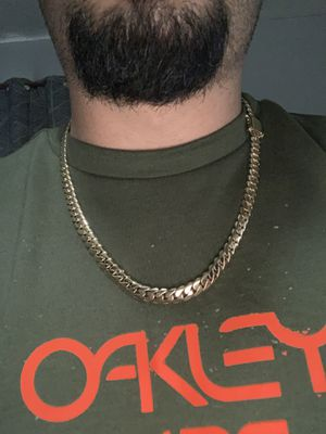 10k gold chain and diamond ring and earrings for Sale in Dallas, TX