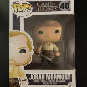 Jorah Mormont Game Of Thrones Funko Pop for Sale in Miami, FL
