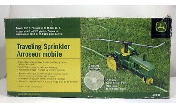 John Deer Tractor Traveling Sprinkler