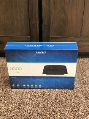Linkys N300 WiFi Router for Sale in Bakersfield, CA