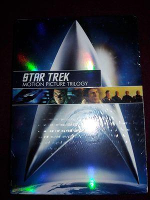 STAR TREK TRILOGY DVD SET for Sale in Redford Charter Township, MI