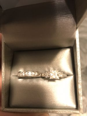 Certified diamond wedding set 3.5 carats for Sale in Fort Washington, MD