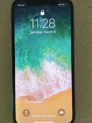 IPHONE X 64GB Verizon, Perfect Condition for Sale in Montrose, CO