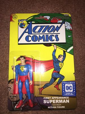 Superman first appearance action figure for Sale in Phoenix, AZ