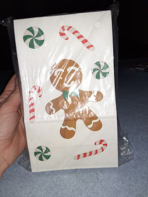 Christmas Gingerbread Bags for Sale in Kenton, OH