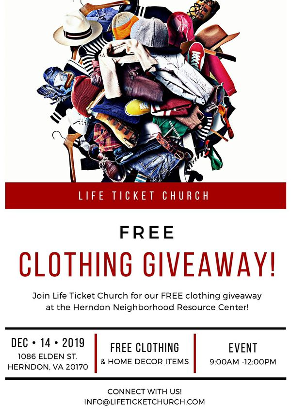 FREE Clothing Giveaway