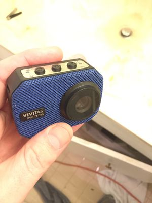 Camera with sd card and attachments for Sale in Dallas, TX