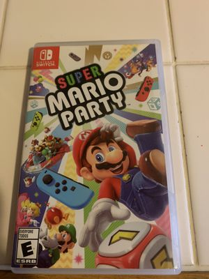 Super Mario party Nintendo switch for Sale in Ontario, CA