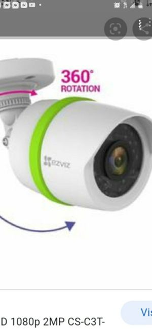 Home top of the line brand new security camera (night vision) for Sale in Fayetteville, NC