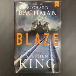 Blaze by Richard Bachman, Forward by Stephen King for Sale in San Jose,  CA